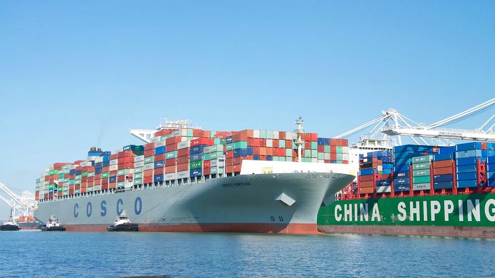 envio china maritimo barco buque avo avocommerce comercio internacional contenedor contenedores expedir tarifas altas europa australia eeuu