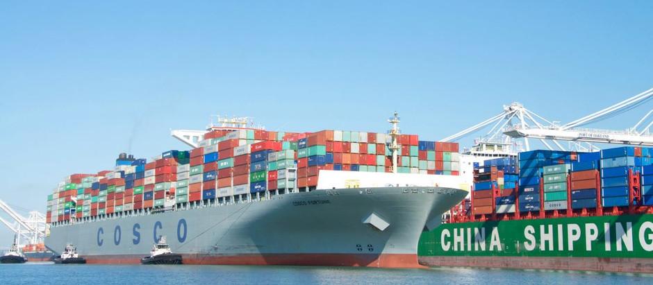 Los precios del comercio marítimo mundial se cuadriplican tras la pandemia
