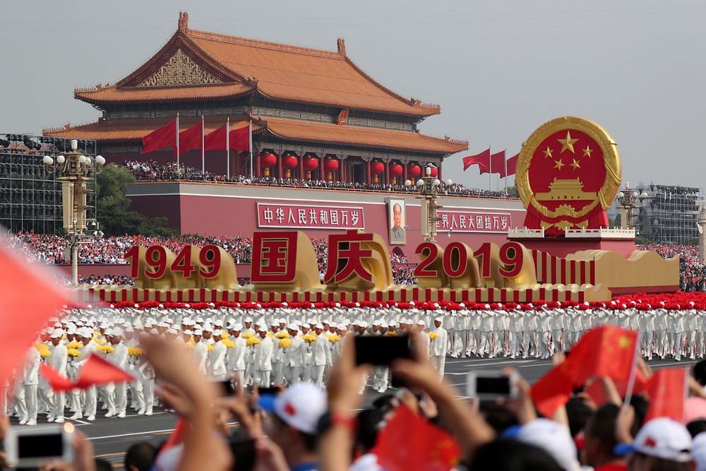 china aniversario celebracion desfile militar 70 años comunismo