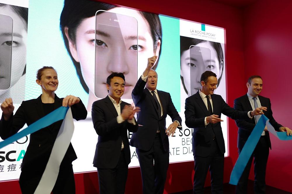 loreal alibaba china acne tecnologia aplicacion intelegencia artificial dermatologia cuidado piel