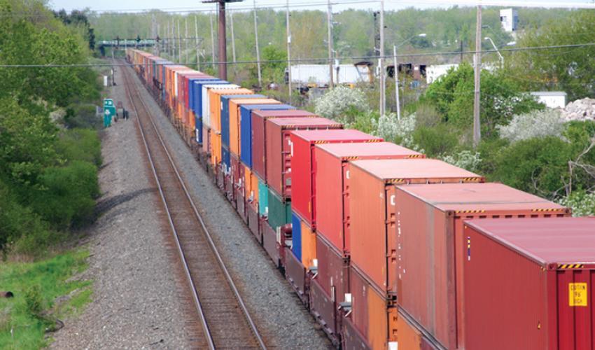 contenedores trenes envio transporte ferroviario china