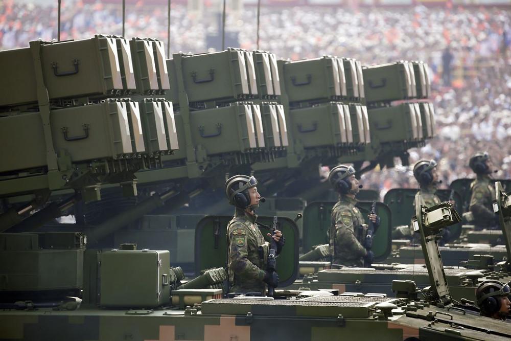 desfile china celebracion aniversario comunismo militar 70 años