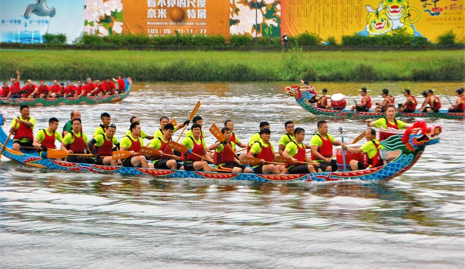 carreras botes dragon china festival colorido competencia deporte tradicion