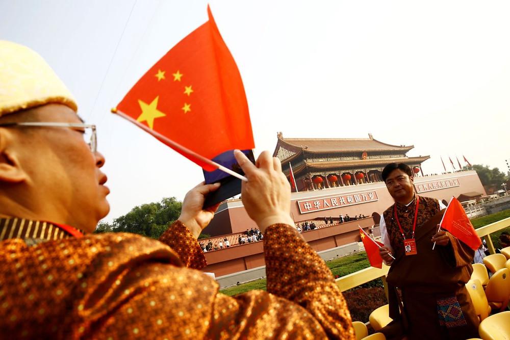 china aniversario comunismo celebracion 70 años desfile militar