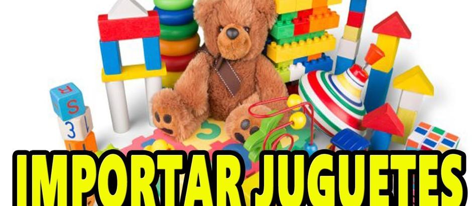 Lista de juguetes manufacturados en China: Felpa, madera, control remoto, plástico y más