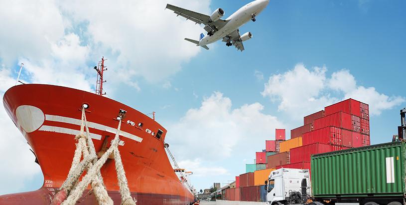 Tipos de carga por mar, aire y tren