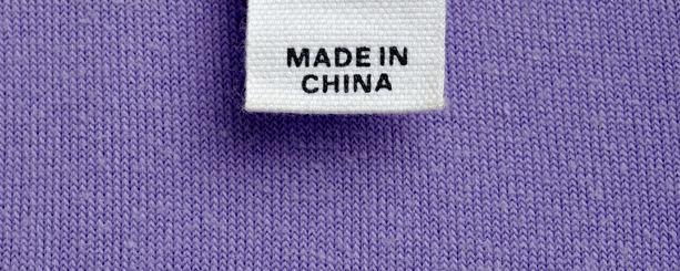 etiqueta tela ropa china importacion importador estandares regulaciones ingles hecho en china