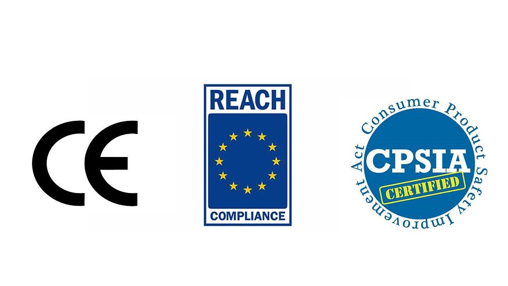 ce reach cpsia seguridad regulaciones importacion leyes cumplimiento