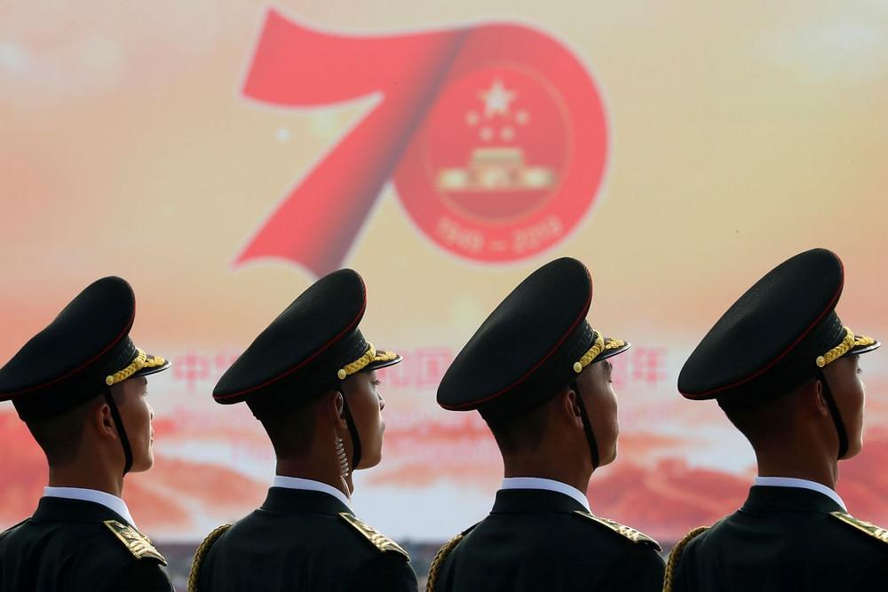 china demostracion fuerza militar comunismo aniversario republica