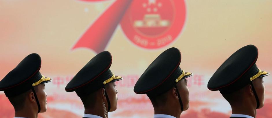 China celebra 70 años de comunismo con una gran demostración de fuerza