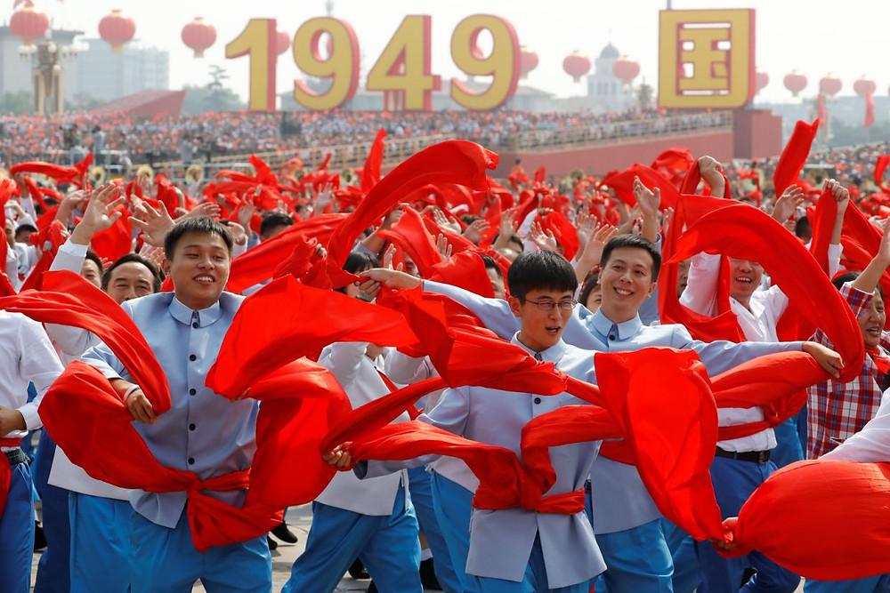 celebracion china aniversario comunismo desfile militar