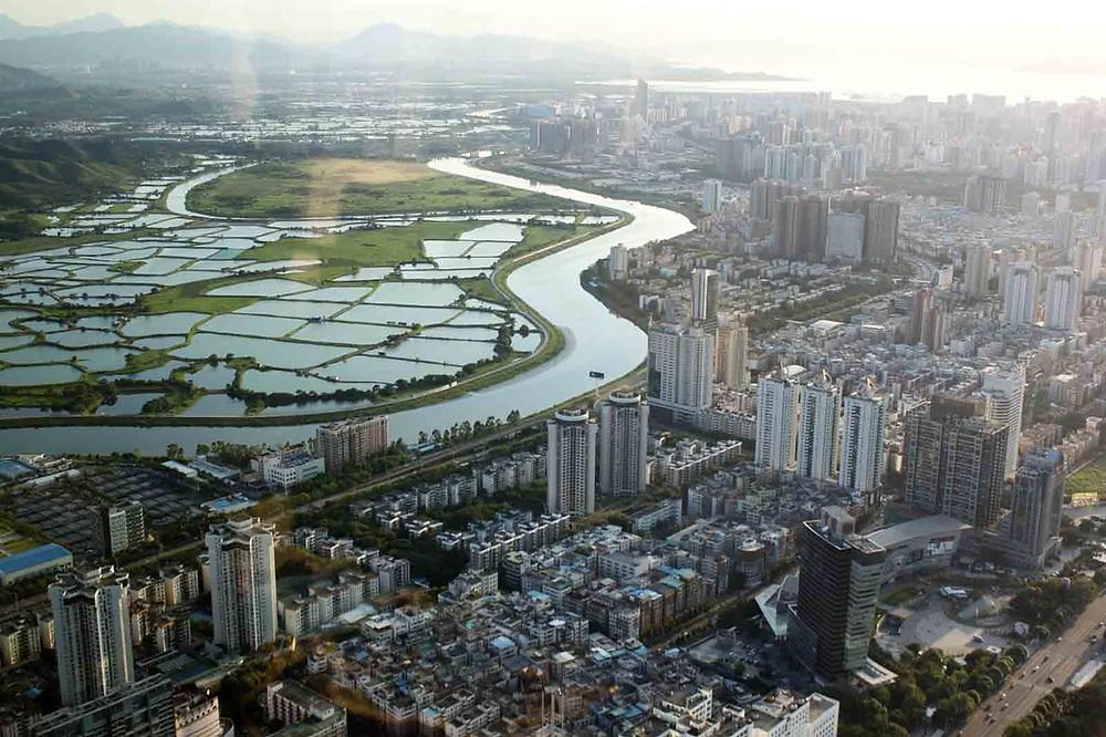 frontera china hong kong shenzhen economia desarrollo financiero tecnologico