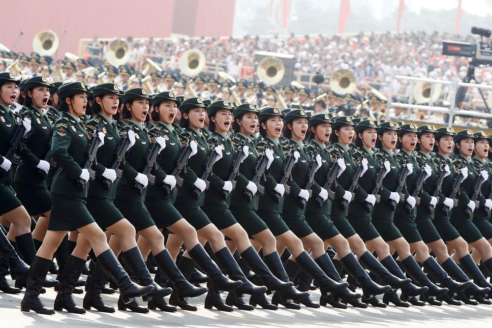 desfile china aniversario celebracion 70 años comunismo militar