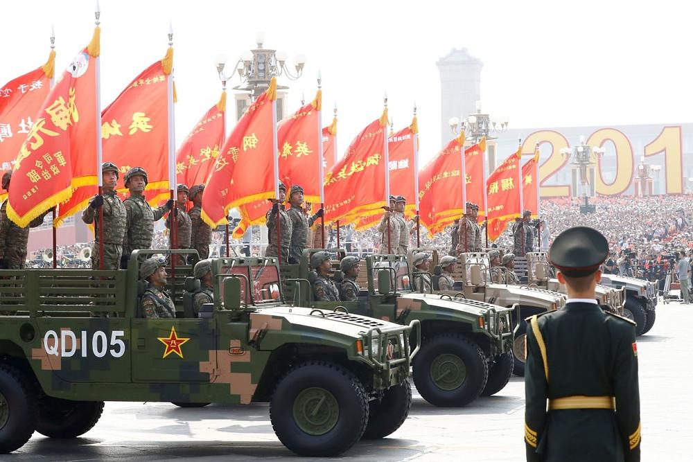 china desfile militar aniversario celebracion comunismo