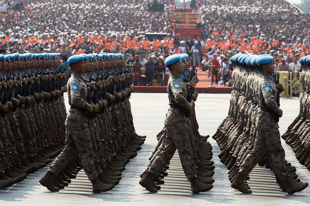 china desfile militar fuerzas paz celebracion aniversario 70 años comunismo
