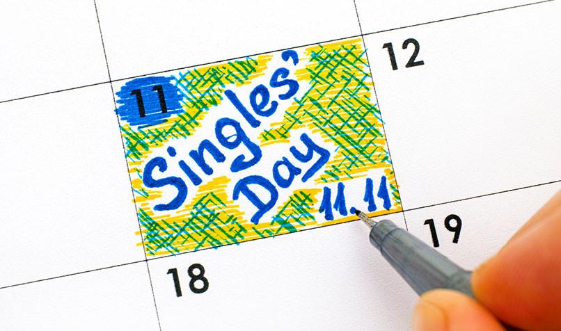 singles day dia del soltero china festividad celebracion dia feriado compras ventas descuentos marcas alibaba bacl friday eeuu viernes negro