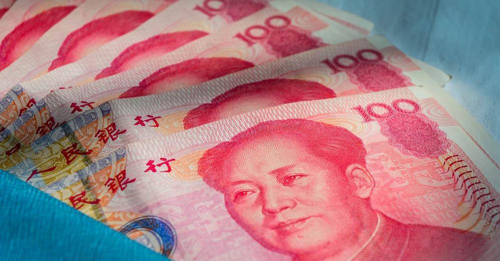 china dinero moneda costo inspeccion calidad rmb