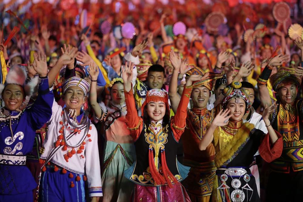 china desfile militar aniversario celebracion comunismo fiesta nacional