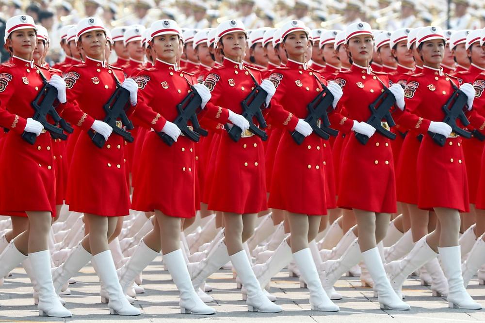 china celebracion militar desfile militar 70 aniversario comunismo