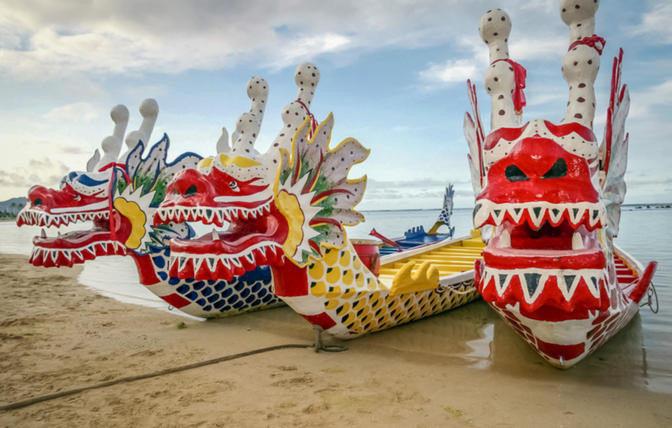 botes dragon festival china celebracion carreras