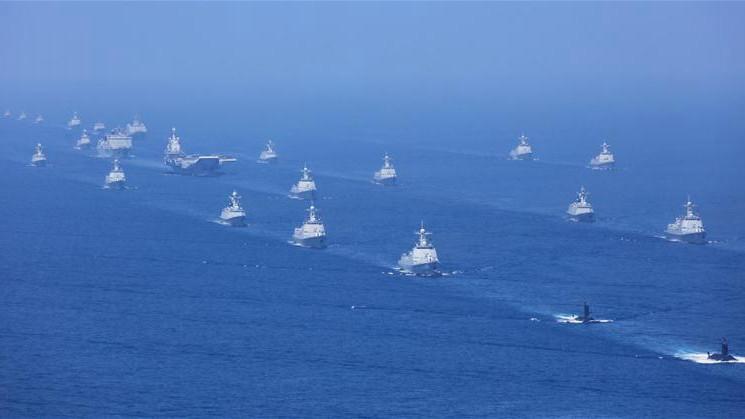 buques barcos armada naval china portaaviones mar meriodional