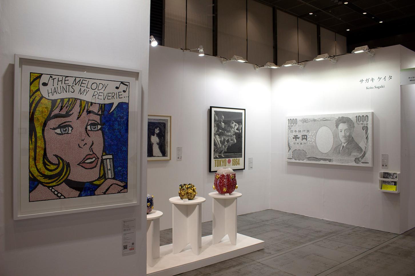 Minnano Gallery at ART FAIR TOKYO 2019