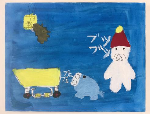 雨降りの帰り道(日乃谷真歌ヒノタニマウ) TARTAROS JAPAN