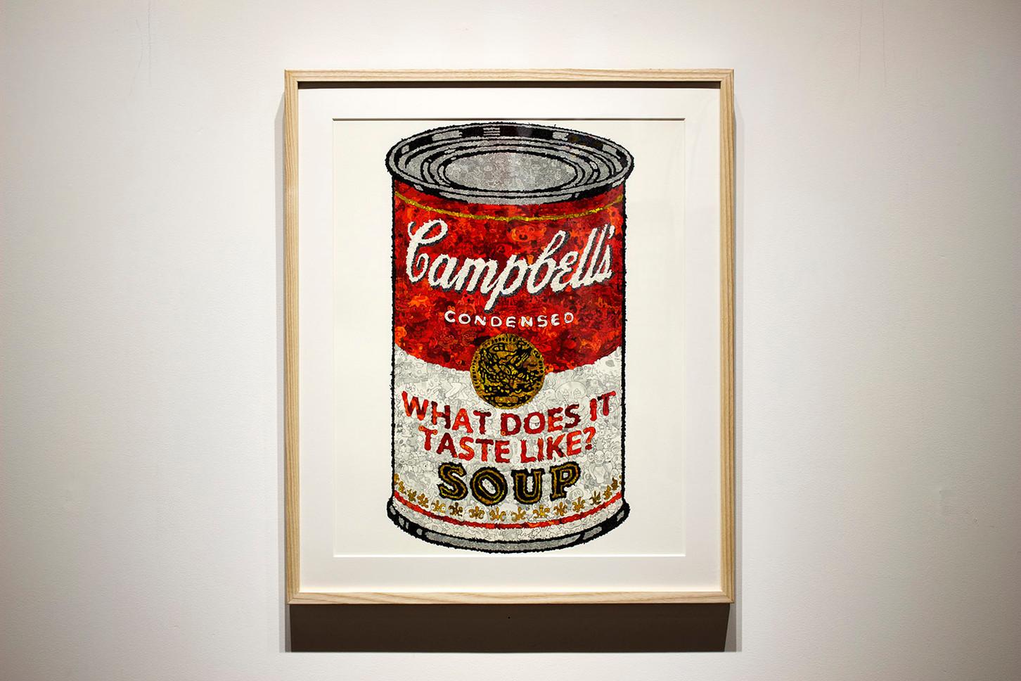 キャンベルのスープ缶 -WHAT DOES IT TASTE LIKE?-
