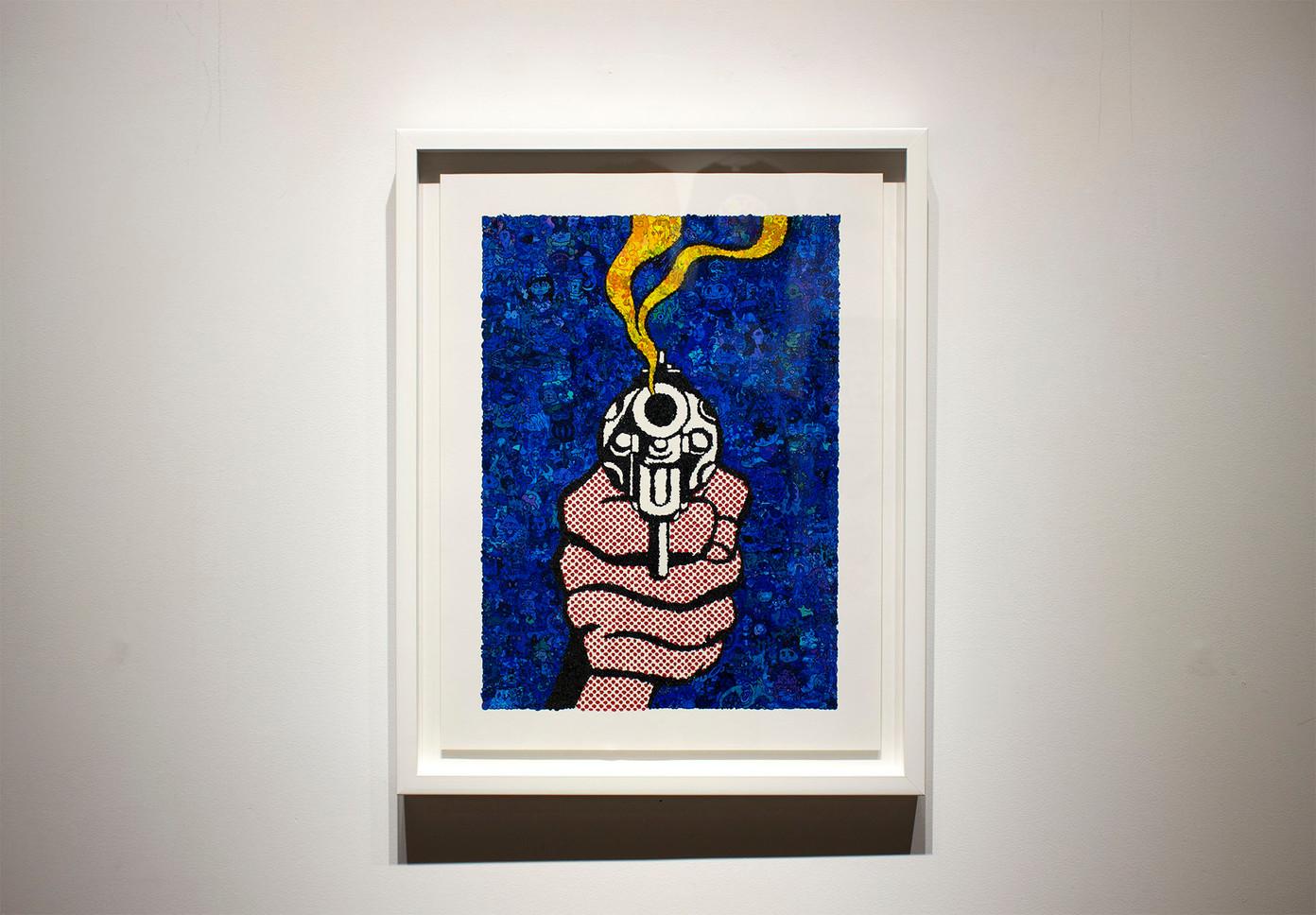 MMNT-MR -Blue Gun-