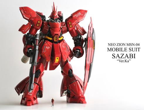 """MSN-04 SAZABI """"Ver.Ka"""" 石黒昭"""