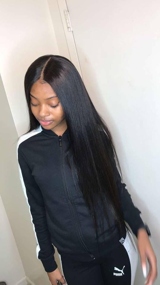 Malaysian hair remy straight hair sew in