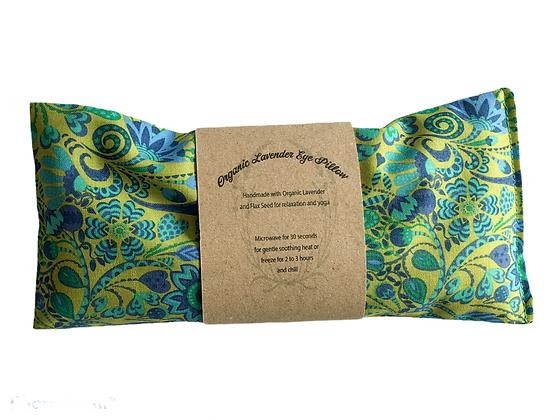 emerald green lavender eye pillow