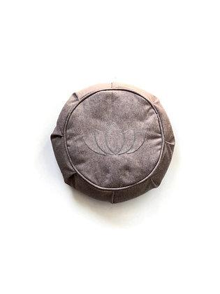 mauve yoga zafu cushion