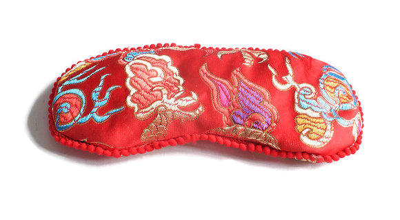 oriental eye pillow