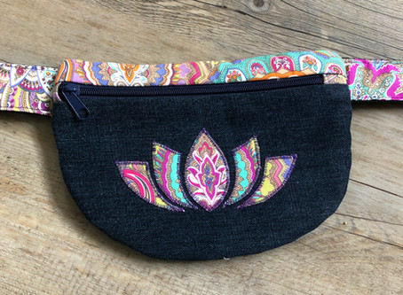 Lotus Flower Bum Bag