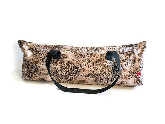snakeskin yoga mat bag