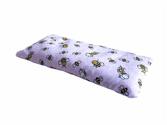 pink bee lavender eye pillow