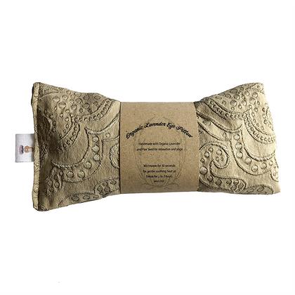 taupe lavender eye pillow