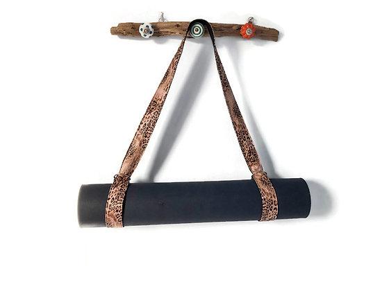 snakeskin yoga mat strap