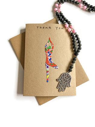 Yoga Thank You Card, Yoga Teacher Thank You Card, Yoga Friend Thank You Card