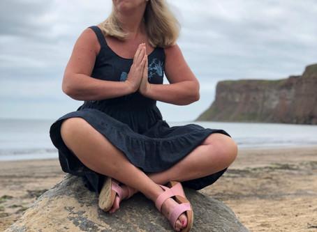Lotus Pose and Yoga Surf