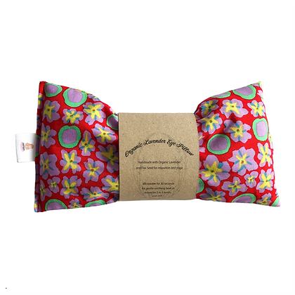 Primula Red Eye Pillow