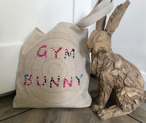 Yoga Tote Gym Bag Sports Bunny