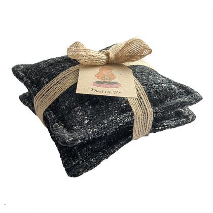 organic knee cushions, heat pad, ice pack