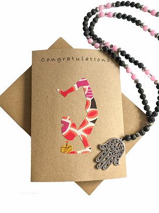 yoga congratulations card