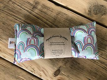 Rainbow Yoga Lavender Eye Pillow, Sleep Mask, Relaxation Mask