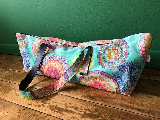 mandala Yoga Mat Bag in Peppermint