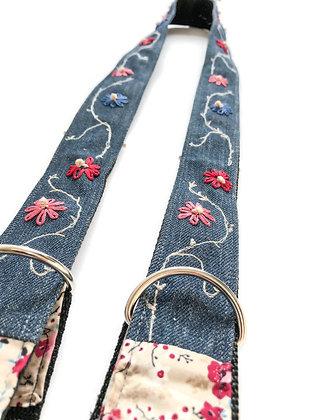embroidered yoga strap