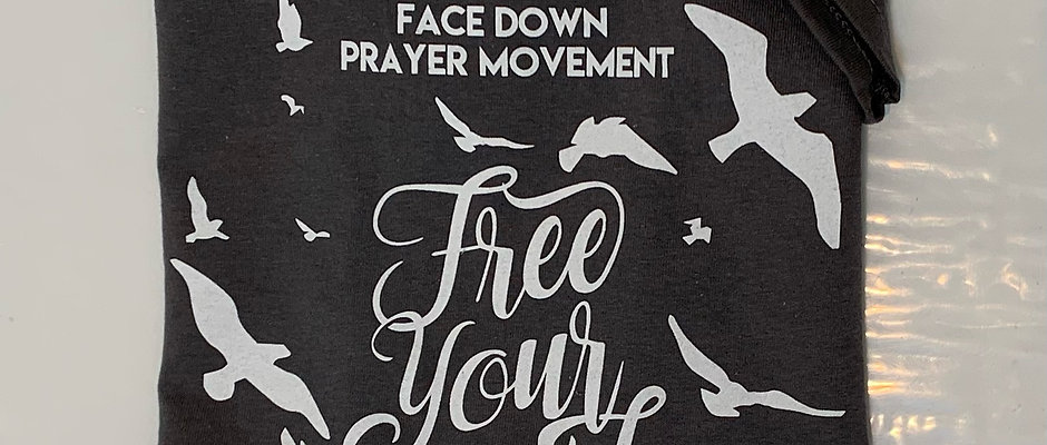 """Free Your Mind"" v-neck t-shirt"