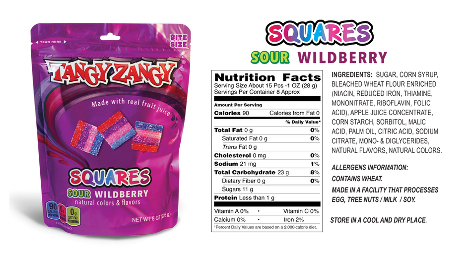 Sour Wildberry Candy